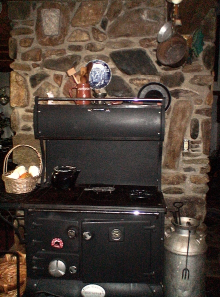 Castle Waterford Stanely wood cook stove Irish Colette Dowell cast iron stone fireplace antiuqe milk jug